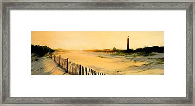 Ponce De Leon Lighthouse Framed Print by Retro Images Archive