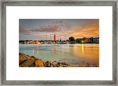 Ponce Inlet Lighthouse Framed Print