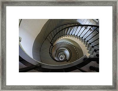 Ponce Stairs Framed Print by Laurie Perry