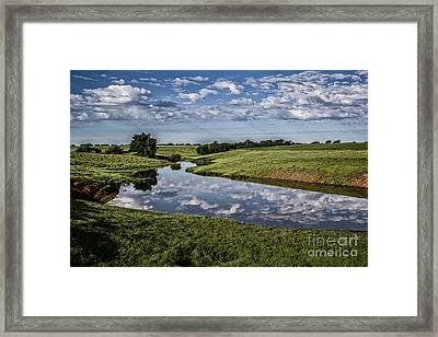 Pond Reflections Framed Print by Jim McCain