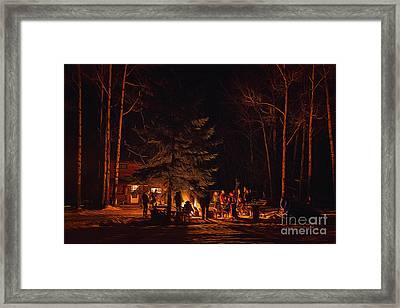 Ponderosa Christmas '14 Framed Print