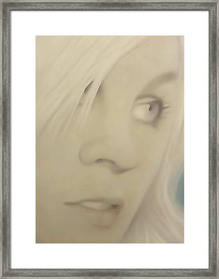 Pong Ping Closeup Framed Print