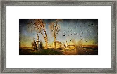 Ponidzie Framed Print by Anna Gora