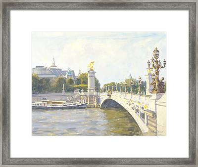 Pont Alexandre IIi Framed Print by Julian Barrow