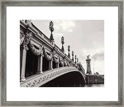 Pont Alexandre IIi Framed Print by Melanie Alexandra Price