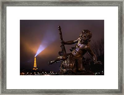 Pont Alexandre IIi, Paris Framed Print