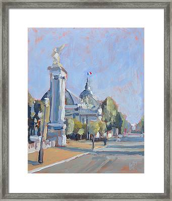 Pont Alexandre IIi Paris Framed Print