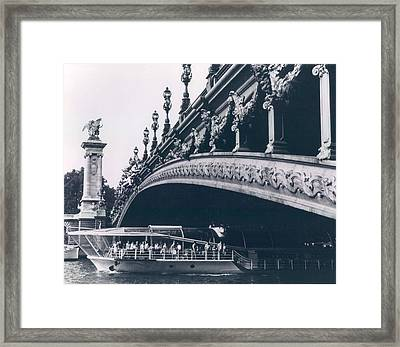 Pont Alexandre In Paris Framed Print