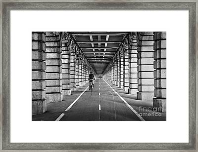 Pont De Bercy Framed Print by Delphimages Photo Creations