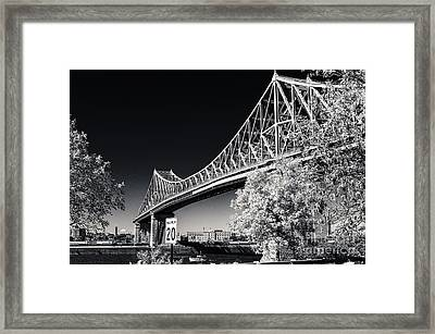 Pont Jacques Cartier Framed Print
