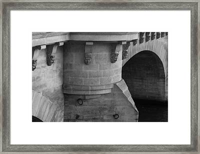 Framed Print featuring the photograph Pont Neuf by Glenn DiPaola