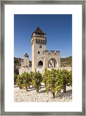 Pont Valentre Cahors Midi-pyrenees France Framed Print by Colin and Linda McKie