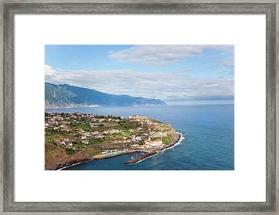 Ponta Delgada, Madeira, Portugal Framed Print by Peter Adams