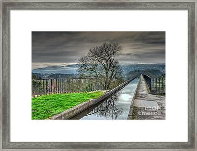 Pontcysyllte Aqueduct Framed Print by Adrian Evans