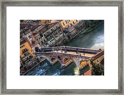 Ponte Pietra Verona Framed Print