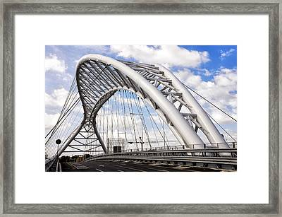 Ponte Settimia Spizzichino Framed Print by Fabrizio Troiani