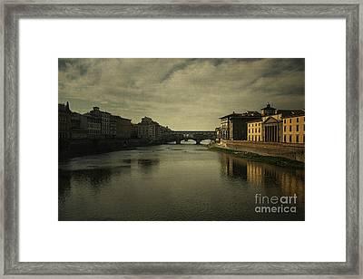 Ponte Vecchio 2 Framed Print by Belinda Greb