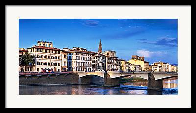 Italian Shopping Photographs Framed Prints