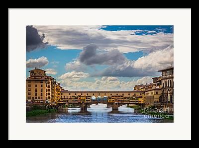 Tuscan Dusk Photographs Framed Prints