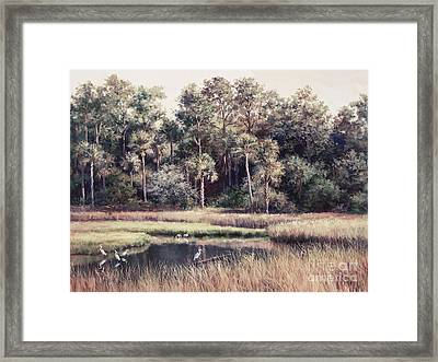 Ponte Vedre II Framed Print by Laurie Hein