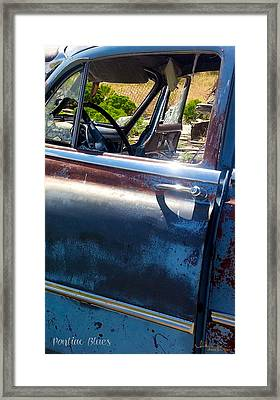 Pontiac Blues Framed Print
