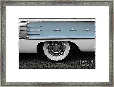 Pontiac Blues Framed Print by Sophie Vigneault