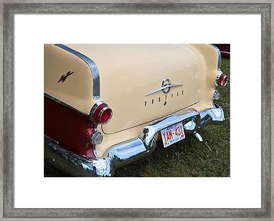 Framed Print featuring the photograph Pontiac Classic Car by Mick Flynn