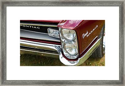 Pontiac Detail Framed Print by Mick Flynn
