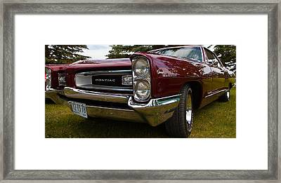 Framed Print featuring the photograph Pontiac Grande Parisienne by Mick Flynn