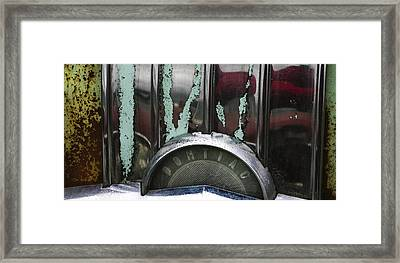 Pontiac Framed Print by Jean Noren