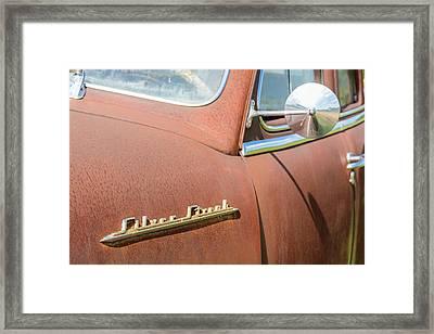 Pontiac Silver Streak Framed Print by Wally Taylor