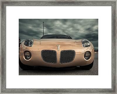 Pontiac Solstice Framed Print by Eti Reid