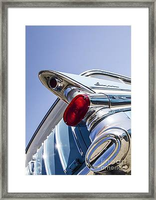 Pontiac Wagon - Metal And Speed Framed Print by Holly Martin