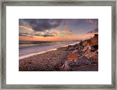 Ponto Twilight Framed Print by Peter Tellone