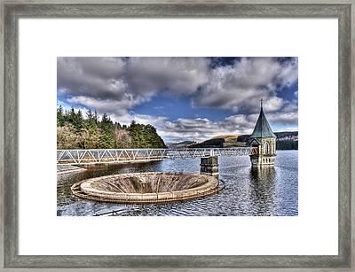 Pontsticill Reservoir 2 Framed Print by Steve Purnell