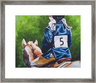 Pony Girl Framed Print