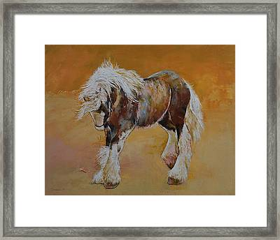 Gypsy Pony Framed Print