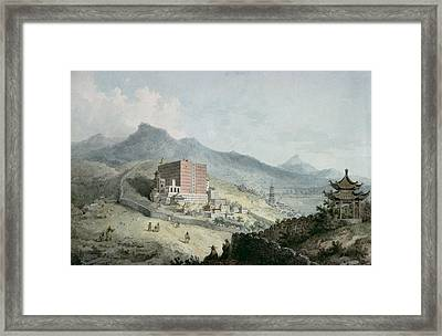 Poo Ta La, Or Great Temple Of Fo, Near Zehol,tibet, China Framed Print by William Alexander