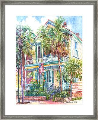 Poogan's Porch Framed Print