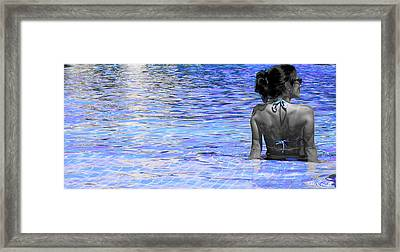 Pool Framed Print