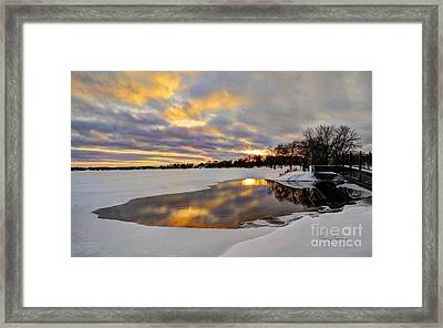 Pool Of Dreams Framed Print