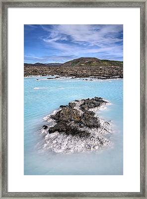 Pool Of Radiance Framed Print by Evelina Kremsdorf