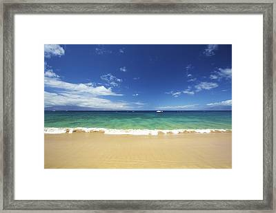 Poolenalena Beach Park Framed Print by Kicka Witte