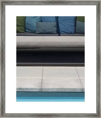Poolside Framed Print