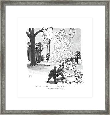 Poor Al! He Had His Heart Set On Being The ?rst Framed Print