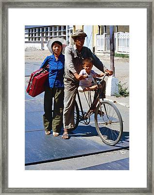 Poor In Cambodia Framed Print by Joe  Connors