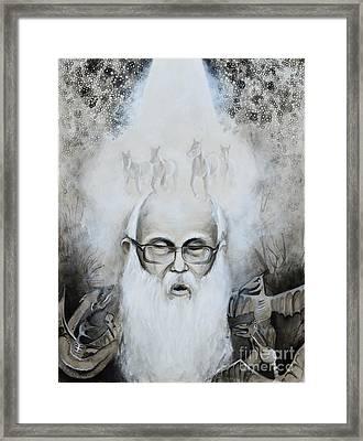 Poor John Framed Print by Cassandra Dunmyer