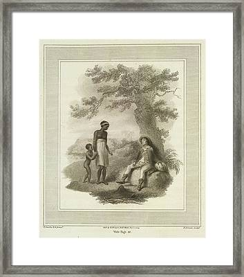 Poor White Man Framed Print