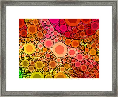 Pop-04-b Framed Print by RochVanh