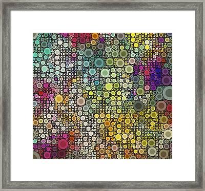 Pop-07-b Framed Print by RochVanh